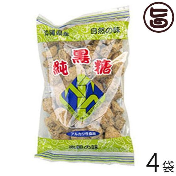 わかまつどう製菓 黒砂糖 カチワリ 350g×4袋 沖縄 定番 人気 土産 サトウキビ 黒糖 かちわり ミネラル ビタミン カリウム 送料無料