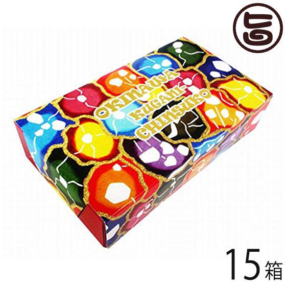 くがに菓子本店 くがにちんすこう ミニ箱 10個入×15箱 沖縄 土産 人気 甘い 条件付き送料無料