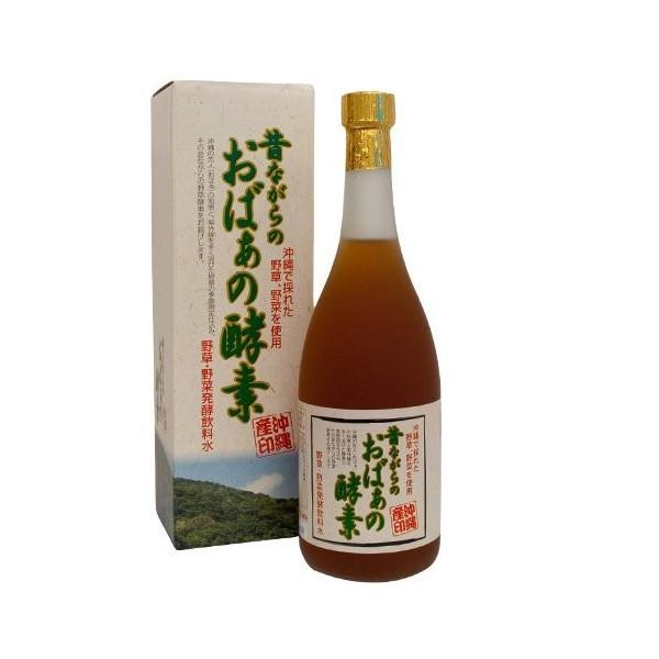 昔ながらのおばぁの酵素 720ml×6本 条件付き 沖縄 希少 健康管理 珍しい 土産