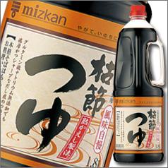 【送料無料】ミツカン 枯節つゆハンディペット1.8L×2ケース(全12本)