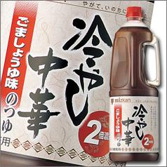 【送料無料】ミツカン 冷やし中華のつゆ ごましょうゆ味ハンディペット1.8L×2ケース(全12本)