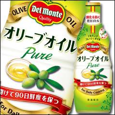 【送料無料】デルモンテ オリーブオイル326g硬質ボトル×2ケース(全24本)
