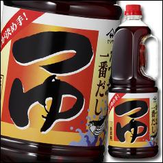 【送料無料】ヤマサ醤油 ヤマサつゆ1.8Lハンディペット×2ケース(全12本)