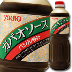 【送料無料】ユウキ食品 ガパオソース(バジル炒め)1.2kg×2ケース(全12本)