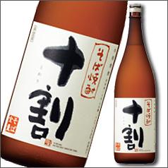 【送料無料】京都・宝酒造 そば焼酎「十割」~そば全量~1.8L×1ケース(全6本)