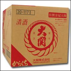 大関 佳撰 金冠(辛口)18Lテナー×1本