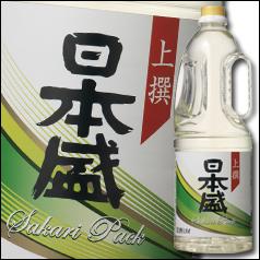 【送料無料】日本盛 上撰 サカリパック 取っ手付1.8Lペット×2ケース(全12本)