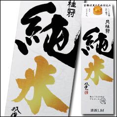 【送料無料】京都府・月桂冠 純米1.8Lパック×2ケース(全12本)
