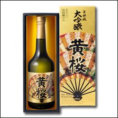 【送料無料】京都・黄桜 華祥風 大吟醸 黄桜(化粧箱入)720ml瓶×2ケース(全12本)