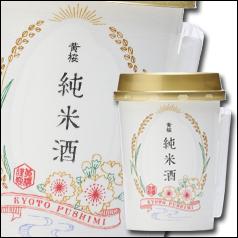 【送料無料】京都・黄桜 黄桜 純米酒180mlカップ×2ケース(全60本)