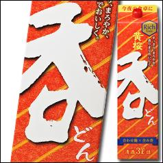 【送料無料】京都・黄桜 黄桜 呑3Lパック×2ケース(全8本)
