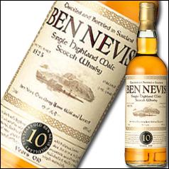 ベン・ネヴィス社 ベン・ネヴィス シングルモルト10年700ml×1ケース(全12本)