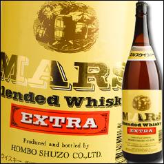 【送料無料】鹿児島県・本坊酒造 マルスウイスキー マルスエクストラ37度1.8L×1ケース(全6本)