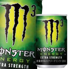 【送料無料】アサヒ モンスターエナジーM3 160ml缶×2ケース(全60本)