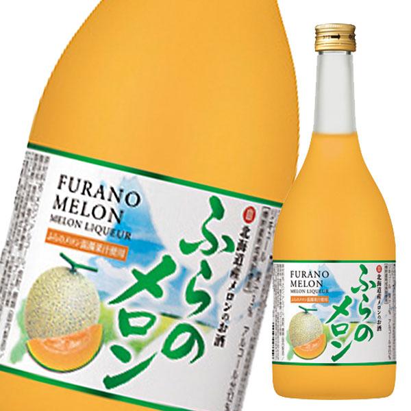 【送料無料】宝酒造 寶 北海道産メロンのお酒 ふらのメロン720ml瓶×2ケース(全12本)