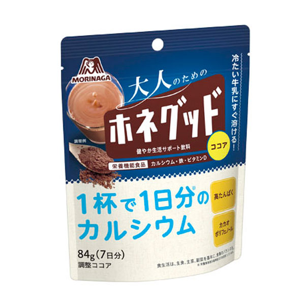 【送料無料】森永 ホネグッド84g袋×2ケース(全96本)