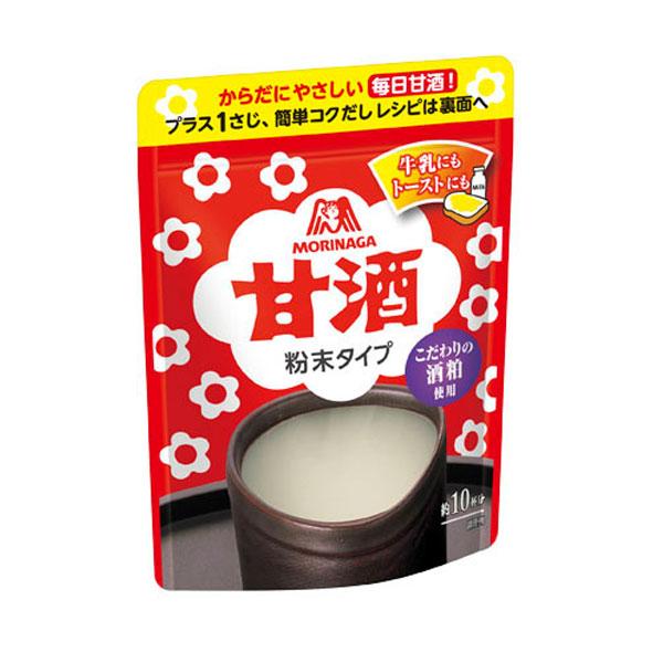 【送料無料】森永 甘酒粉末タイプ100g×2ケース(全96本)