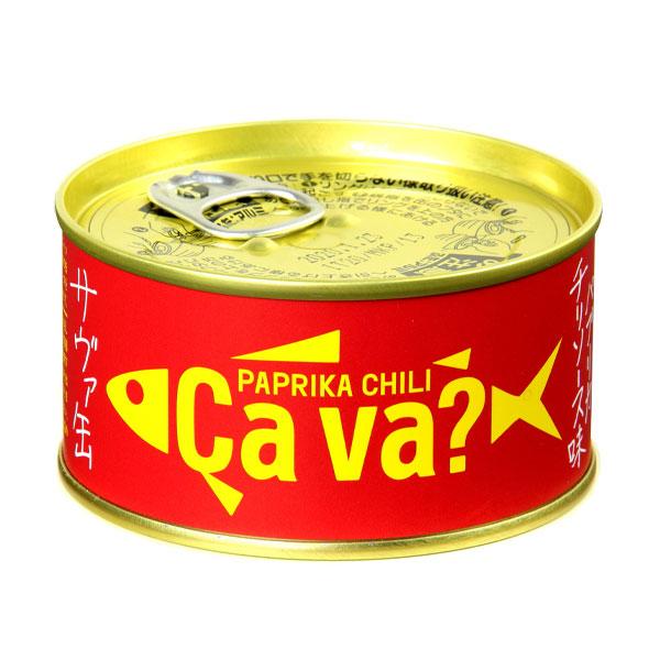 【送料無料】岩手缶詰 サヴァ缶 国産サバのパプリカチリソース味170g缶詰×2ケース(全48本)