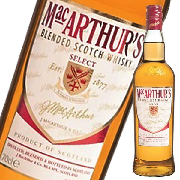 【送料無料】マッカーサーズ・セレクト・スコッチ・ウイスキー700ml瓶×2ケース(全24本)