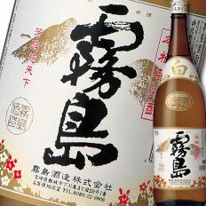 【送料無料】宮崎県・霧島酒造 本格芋焼酎 白霧島(しろきりしま)25度1.8L瓶×1ケース(全6本)