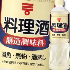 【送料無料】ミツカン 料理酒1L×1ケース(全12本)