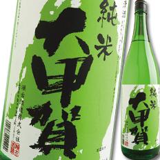【送料無料】滋賀県・瀬古酒造 純米酒 大甲賀1.8L×1ケース(全6本)
