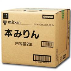 【送料無料】ミツカン 本みりん20Lキュービーテナー×1本