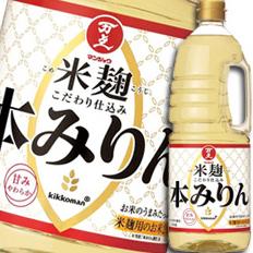 【送料無料】マンジョウ 米麹こだわり仕込み本みりんハンディペット1.8L×2ケース(全12本)