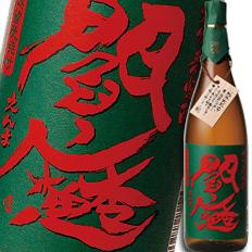 大分県・老松酒造 むぎ焼酎25度 常圧閻魔1.8L×1ケース(全6本)