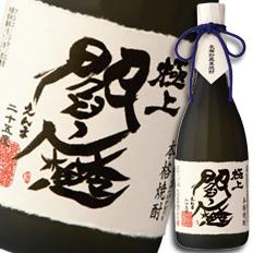 【送料無料】大分県・老松酒造 むぎ焼酎25度 極上閻魔(箱入り)720ml×2ケース(全12本)