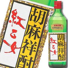 福岡県·紅乙女酒造 25度胡麻祥酎 紅乙女角瓶720ml×1ケース(全12本)