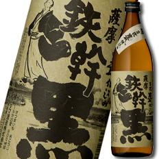 鹿児島県・オガタマ酒造 25度いも焼酎 薩摩 鉄幹黒900ml×1ケース(全12本)