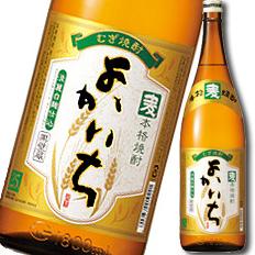 【送料無料】京都・宝酒造 本格焼酎「よかいち」(麦)25度1.8L×1ケース(全6本)