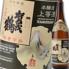 【送料無料】広島県・賀茂鶴酒造 賀茂鶴 上等酒1.8L×1ケース(全6本)