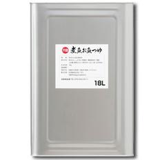 【送料無料】京都・宝酒造 「京寶」煮魚お魚つゆ18L×1本