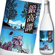 【送料無料】合同 しそ焼酎 鍛高譚1.8L×1ケース(全6本)