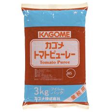 北海道は850円 沖縄は3100円の別途送料を頂戴します 送料無料 トマトピューレーフィルム3kg×2ケース 送料無料カード決済可能 カゴメ 贈答 全8本
