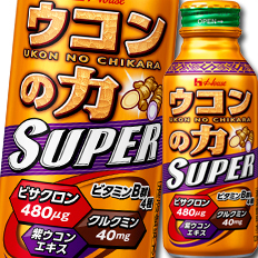 【送料無料】ハウス ウコンの力 スーパー120ml×2ケース(全60本)