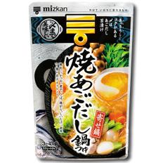 ミツカン 〆まで美味しい 焼あごだし鍋つゆストレートタイプ750g(3~4人前)×1袋