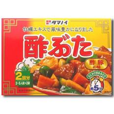 【送料無料】タマノイ酢 酢ぶたの味90g×2ケース(全120本)