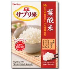 【送料無料】ハウス 新玄サプリ米 葉酸米50g×1ケース(全40本)【to】
