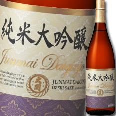 【送料無料】大関 大関 純米大吟醸1.8L瓶×1ケース(全6本)