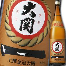【送料無料】大関 上撰 金冠1.8L瓶×1ケース(全6本)