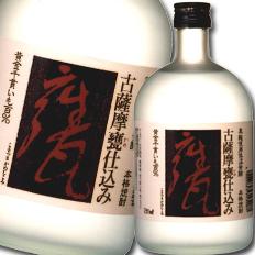 【送料無料】吹上焼酎 古薩摩甕仕込み(芋)720ml瓶×2ケース(全12本)