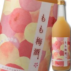 【送料無料】大関 もも梅酒720ml瓶×2ケース(全12本)