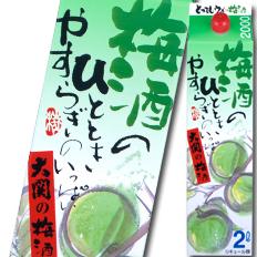 【送料無料】大関 大関の梅酒2Lパック×2ケース(全12本)