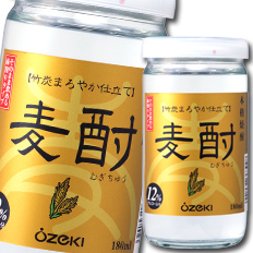 【送料無料】吹上焼酎 麦酎カップ180ml瓶×2ケース(全60本)