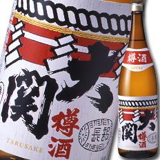 【送料無料】大関 上撰 金冠 樽酒1.8L瓶×1ケース(全6本)