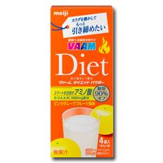 【送料無料】明治 VAAM ヴァームダイエットパウダー4袋入×1ケース(全48本)