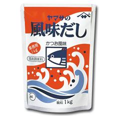 【送料無料】ヤマサ醤油 ヤマサ風味だし(業務用)1kg袋×2ケース(全24本)
